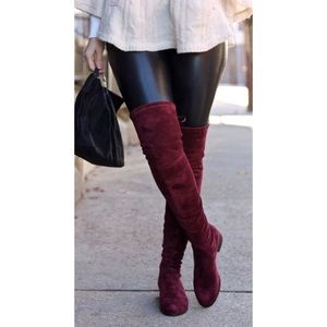 Charles David Gammon Over-the-Knee Boots Sz 12